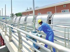 天津首个调蓄池与泵站结合工程──陈塘泵站已基本完工