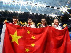 天津拿到东京奥运首金 董洁随中国游泳队夺冠