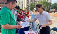 我为群众办实事 民生银行天津分行积极 参与微实事广场公益活动