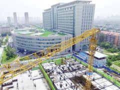 天津中醫藥大學第二附屬醫院中醫藥傳承創新工程預計11月底主體封頂