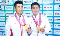 天津全运首金 李喆/高鑫夺全运网球男双冠军