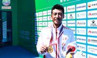 35岁老将圆梦 李喆获职业生涯首枚全运单打金牌