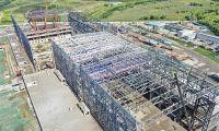 国家大型地震工程模拟研究设施项目大型振动台钢结构主体顺利封顶
