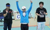 全运会男子25米手枪速射李越宏夺冠