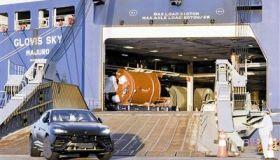 兰博基尼商品车首次登陆天津港